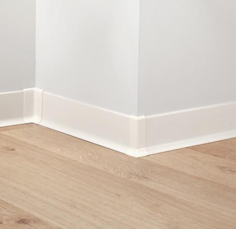 Pavimento Bianco Opaco : Accessori pavimenti battiscopa metal line allum bianco opaco cm